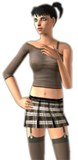 xSIMS.de Seducing School Girl Uniform for the Sims 2